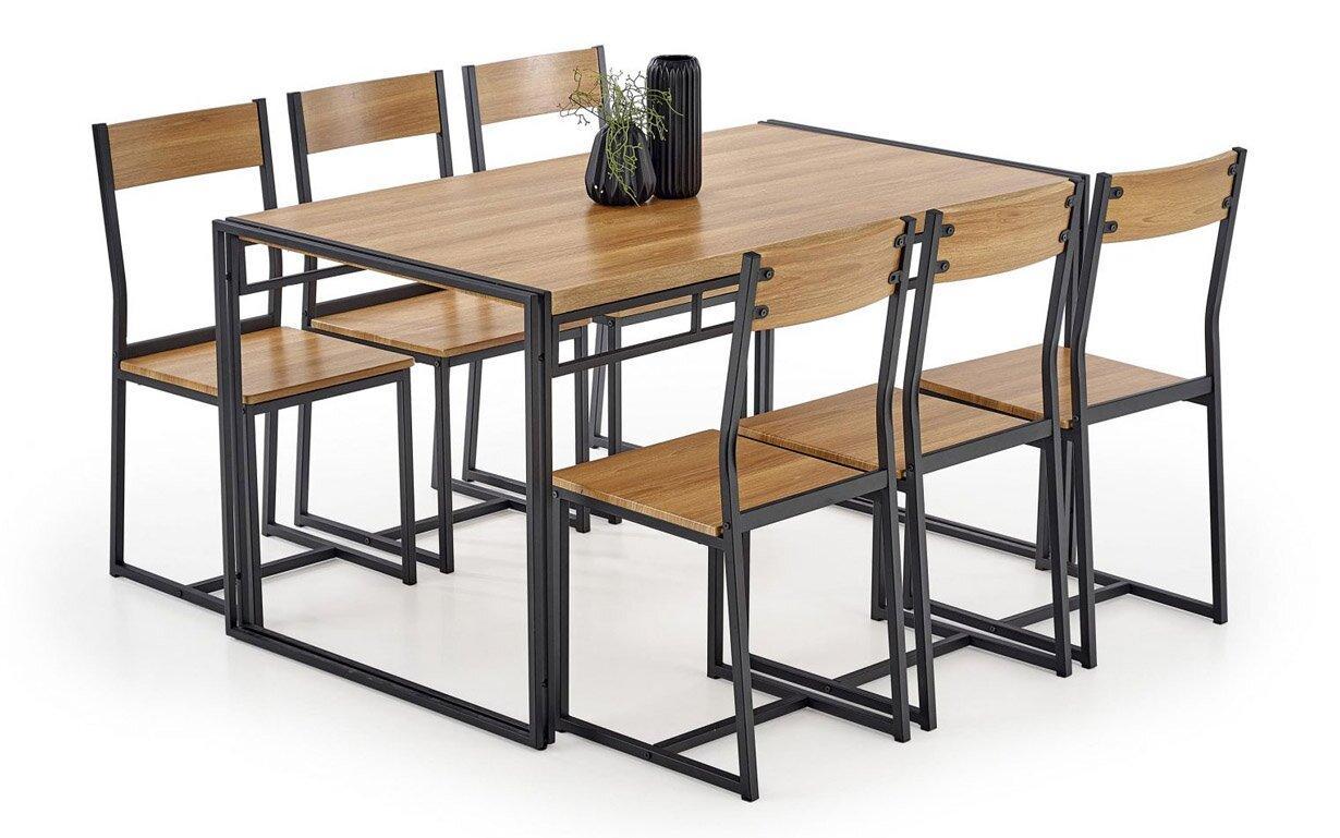 Столовий комплект BOLIVAR Halmar 140x80