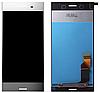 Дисплей (экран) для Sony G8141 Xperia XZ Premium/G8142 + тачскрин, серебристый, Luminous Chrome, оригинал