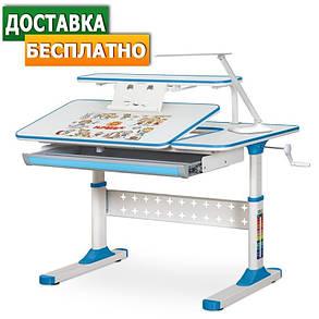 Ergokids TH-320   Дитяча зростаюча парта стіл для навчання, фото 2