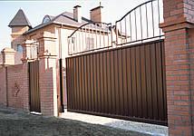 Відкатні ворота комплект