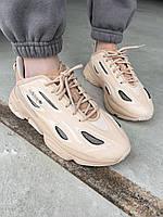Кросівки жіночі бежевого кольору. Стильні жіночі кросівки бежеві., фото 1