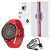 Фітнес браслет трекер Smart Watch LW29 Розумні круглі смарт годинник з тонометром, пульсометром, Крокомір 44мм, фото 6