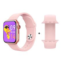 Фітнес браслет трекер Smart Watch 6 X16 Розумні смарт годинник з бездротовою зарядкою і мікрофоном Голосовий виклик, фото 2