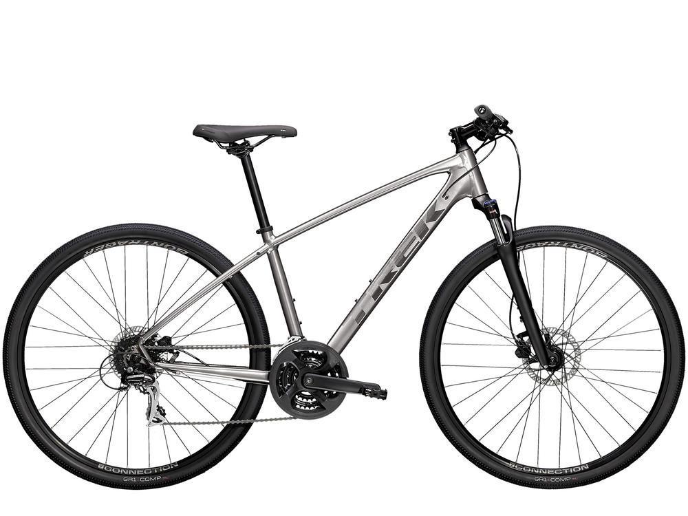 """Велосипед Trek-2021 DUAL SPORT 2 SL сріблястий XL (22.5"""")"""