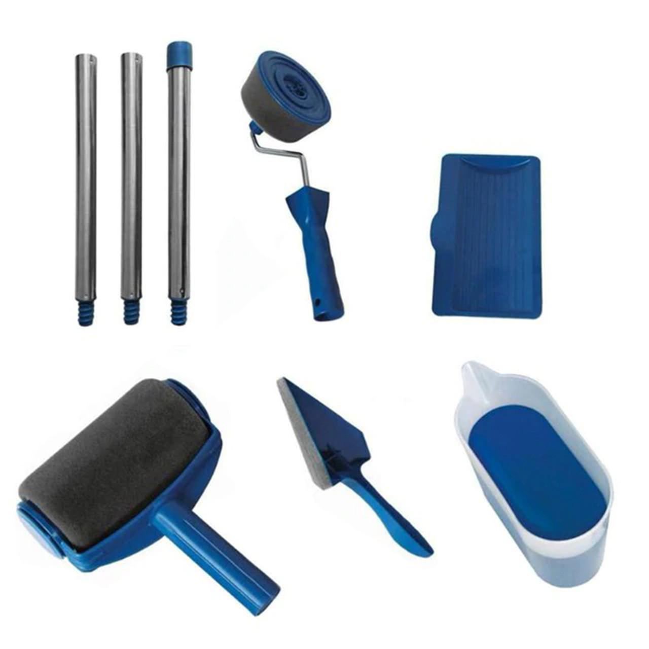 Універсальний набір, валик для фарбування приміщень TM-110 синій