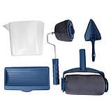 Універсальний набір, валик для фарбування приміщень TM-110 синій, фото 4