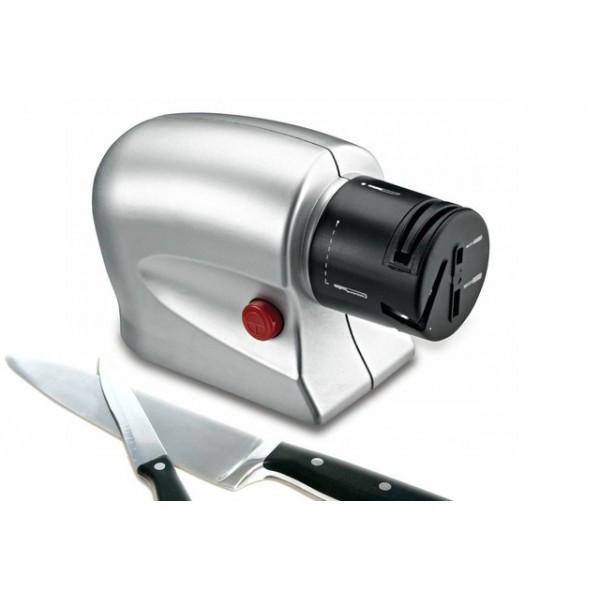 Электрическая точилка для ножей и ножниц универсальная  от сети 220В Серая