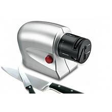 Електрична точило для ножів та ножиць універсальна від мережі 220В Сіра