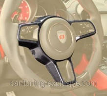 MANSORY steering wheel switch panel for Porsche Cayenne Coupe