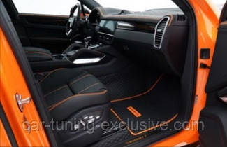 MANSORY individualized interior kit for Porsche Cayenne Coupe