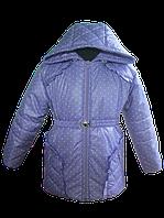 Сиреневая, весенняя куртка для девочки. 86, 92, 98, 104