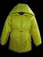 Желтенькая, весенняя куртка для девочки. 86, 92