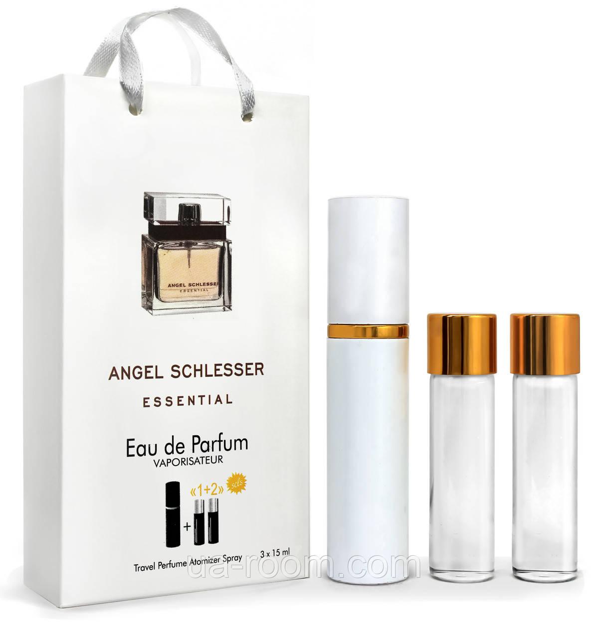 Міні-парфум жіночий Angel Schlesser Essential, 3х15 мл