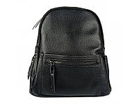 Рюкзак жіночий чорний .Жіночий рюкзак з натуральної шкіри чорного кольору., фото 1
