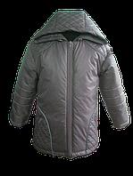 Кофейная, весенняя куртка для мальчика. 86, 92, 98, 104, 110