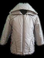 Серая, весенняя куртка для мальчика. 86, 92, 98, 104, 110