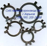 Шайба стопорная многолапчатая фосфатированная ГОСТ 11872-89