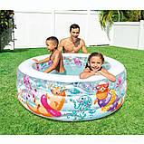 Дитячий надувний басейн Intex з надувним дном 152x56 см (58480), фото 2