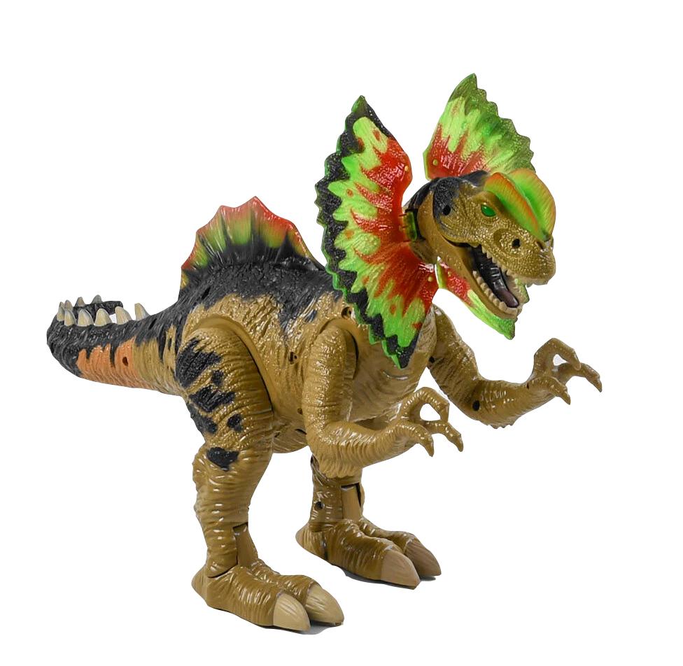 Динозавр на батарейках 35 см, ходит, издает звуки