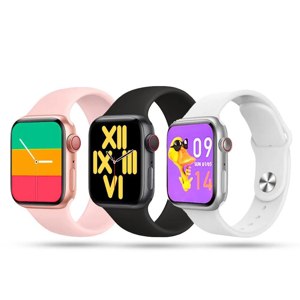 Фітнес браслет трекер Smart Watch 6 X16 Розумні смарт годинник з бездротовою зарядкою і мікрофоном Голосовий виклик