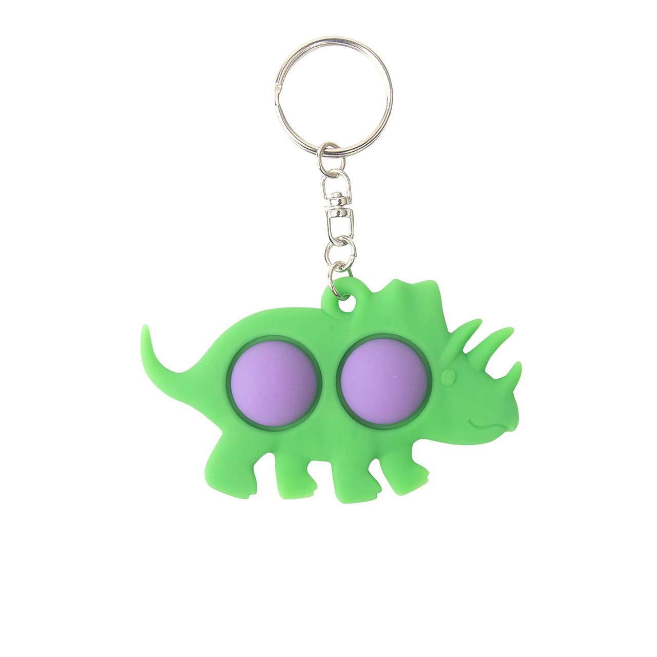 Сенсорна іграшка Simple Dimple поп іт антистрес сімпл дімпл pop it динозавр фіолетовий