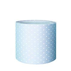 Капелюшна коробка 16х14 см Принт блакитний