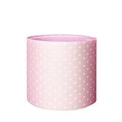 Капелюшна коробка 16х14 см Принт рожевий
