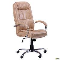 Кресло офисное Марсель Хром Мадрас голд беж AMF купить в Одессе, Украине