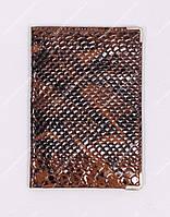 Кожаная обложка на паспорт Desisan 1003-2