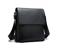Мужская качественная кожаная сумка через плечо Tiding Bag