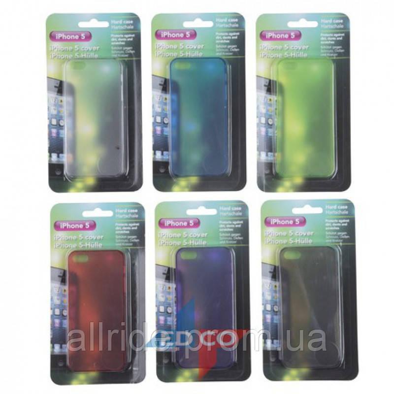 Защитный пластиковый чехол для iPhone 5 и 5S