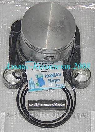 Ремкомплект компрессора КАМАЗ Евро 1 цилиндровый (полный+седла+палец)