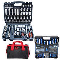 Набор инструментов 3в1 (набор инструментов 108 ед+набор отверток и бит 63 ед+сумка для инструмента  )