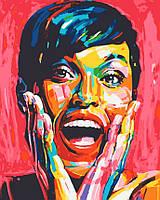 Картина по номерам Радужный портрет, 40*50 см, без коробки RB