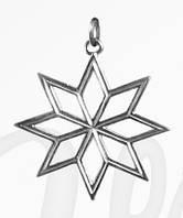 Кулон серебряный Звезда Родала f 300  295