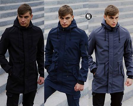 Размеры S-2XL   Мужская куртка Intruder Softshell V2.0, фото 2