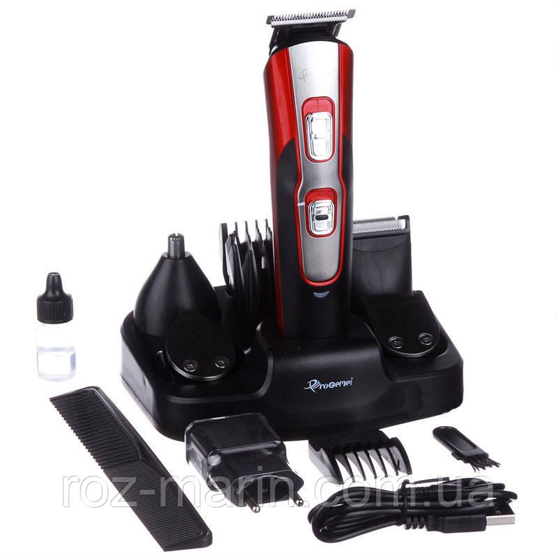 Машинка для стрижки GEMEI GM-592 10в1, Универсальная машинка для стрижки, Триммер для носа, ушей и бороды