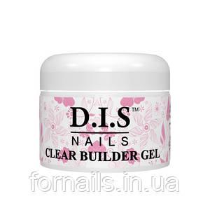 Clear builder gel Dis (конструирующий прозрачный) 30 гр