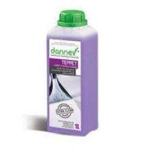 Засіб для очищення килимових покриттів і м'яких меблів Dannev TEPPET 1 л