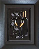 Набор для вышивки крестом Luca-S B2221 Бутылка с вином