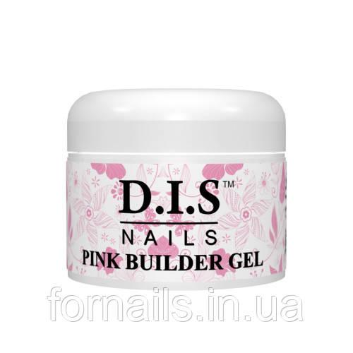 Pink builder gel Dis (конструирующий прозрачно-розовый) 30 гр