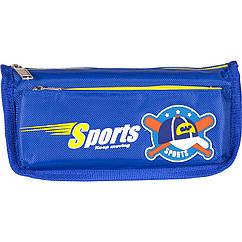 "Пенал-косметичка ""Sport CAP"" Color-it 68020 21 см (Синий)"