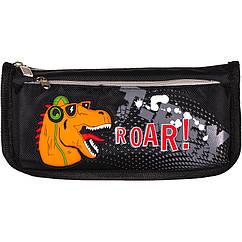 """Пенал-косметичка """"Roar"""" Color-it 68042 21 см (Черный)"""