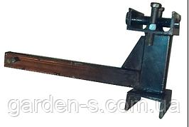 Механизм крепления навески к мототрактору и мотоблоку