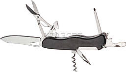Нож PARTNER HH032014110 на 9 инстр. черный