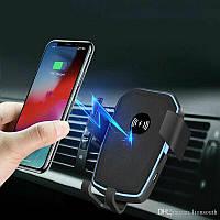 Автодержатель для телефона зарядка K81 автомобильный держатель в авто. Магнитный холдер для телефона в машину