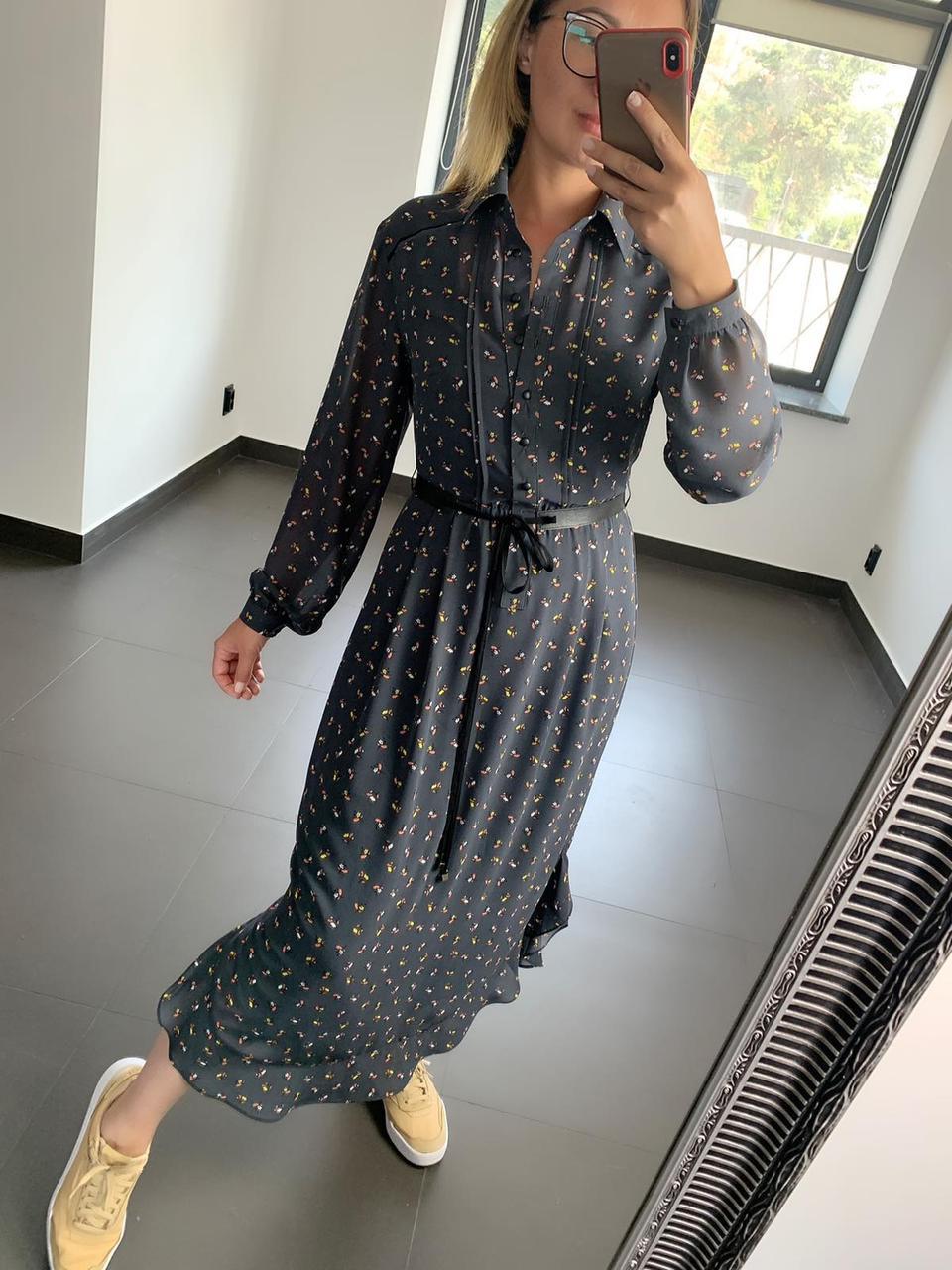Платье серое женское Флирт PARI MKPR7741