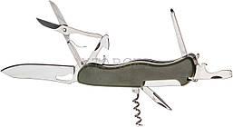 Нож PARTNER HH032014110 на 9 инстр. оливковый