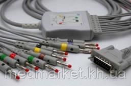 Кабель к ЭКГ 60-IKO, 80G-L,80D, 112C, 112D, INNOMED на 10 отведений