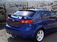 Задний бампер HN для Chevrolet Lacetti Hatchback 2004-12